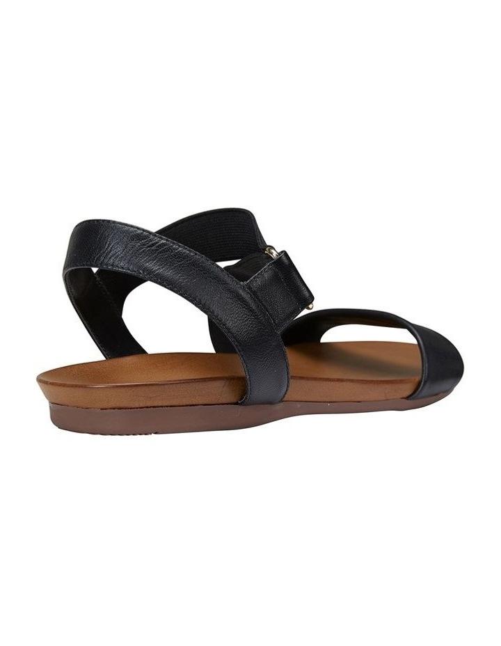 Amity Black Glove/Elastic Sandal image 4