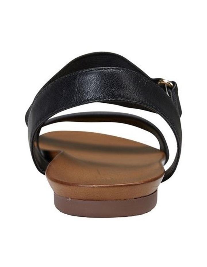 Amity Black Glove/Elastic Sandal image 5