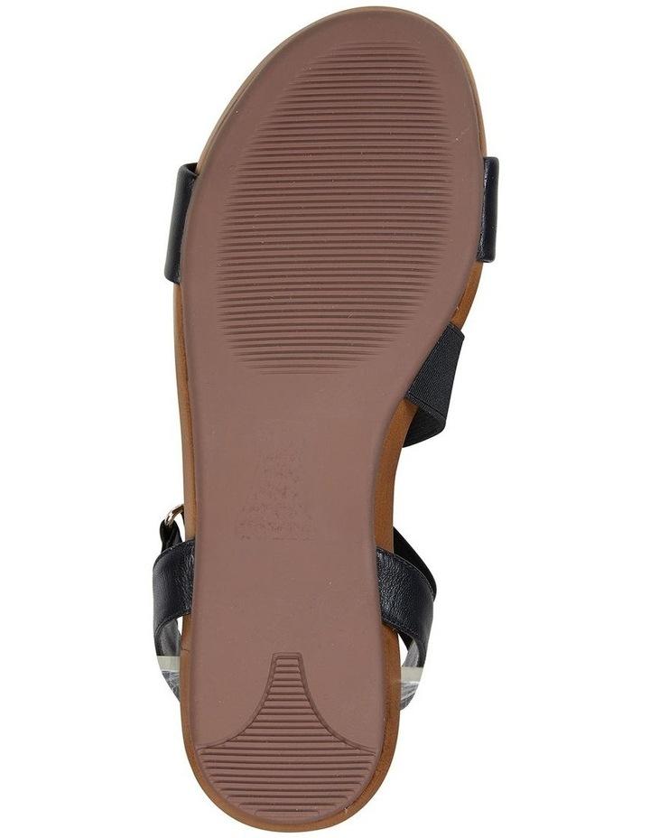 Amity Black Glove/Elastic Sandal image 6