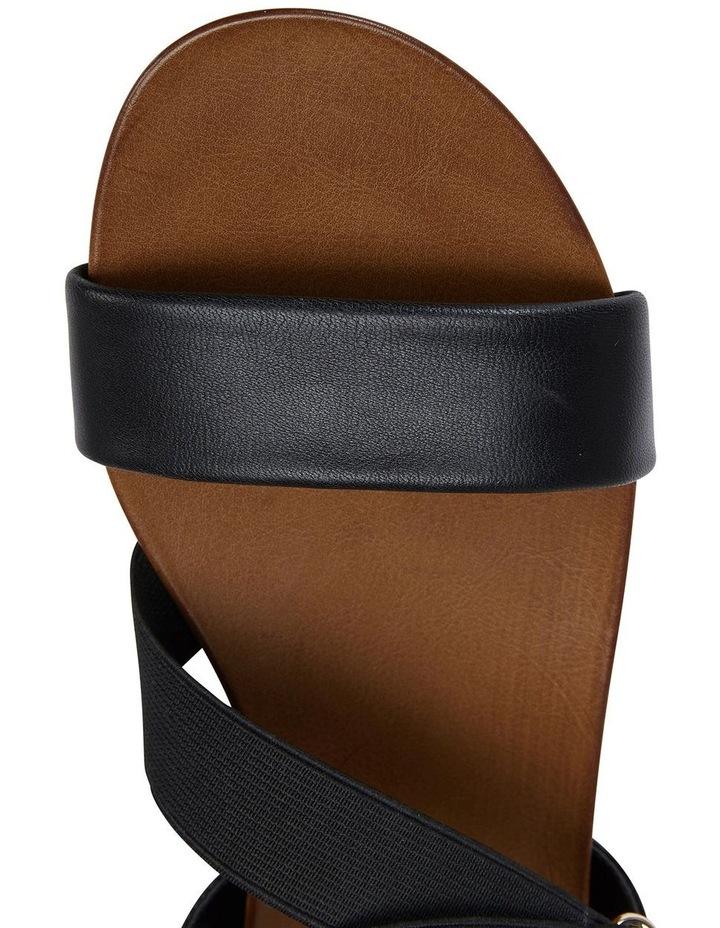Amity Black Glove/Elastic Sandal image 7