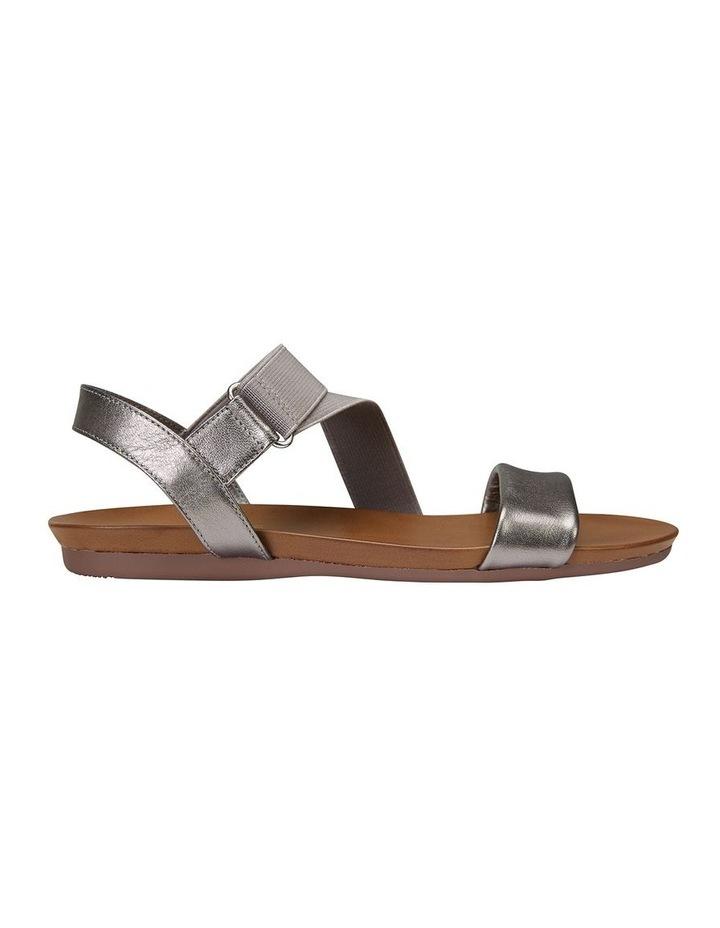 Amity Pewter Metallic Elastic Sandal image 1