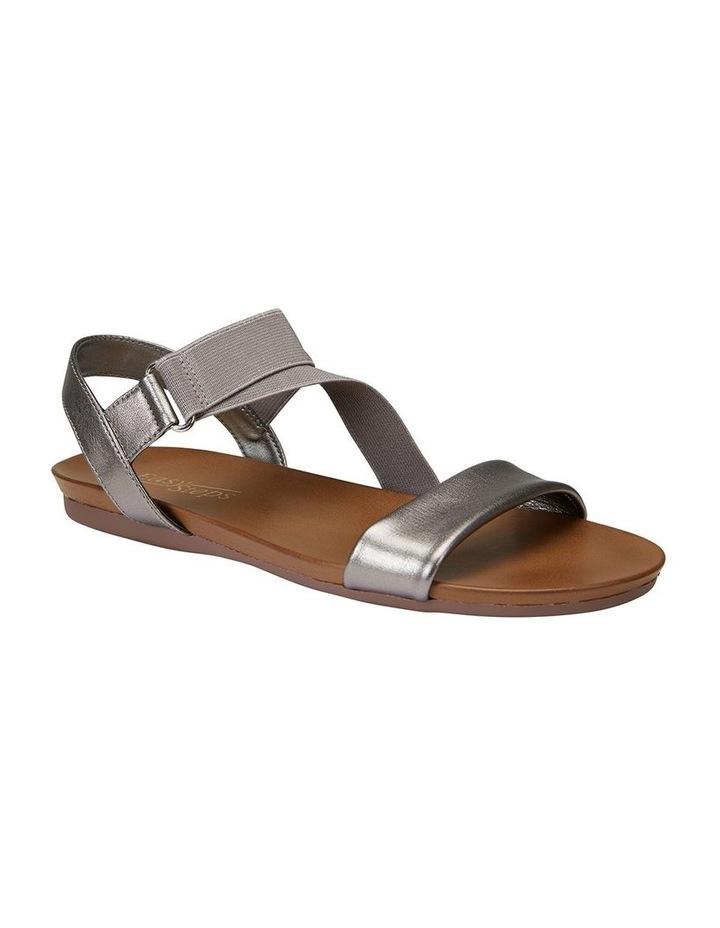 Amity Pewter Metallic Elastic Sandal image 2