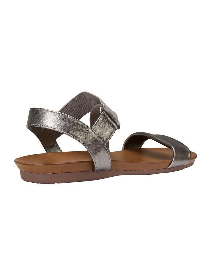 Amity Pewter Metallic Elastic Sandal image 4
