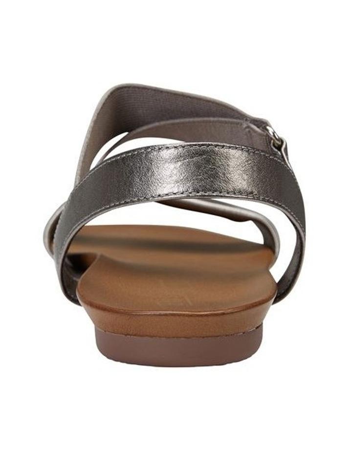 Amity Pewter Metallic Elastic Sandal image 5