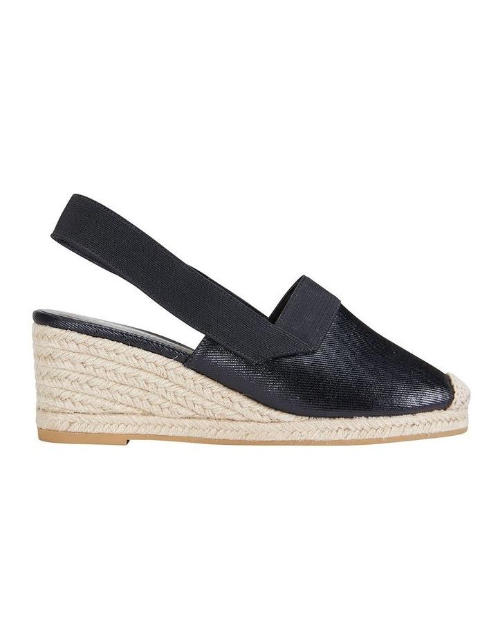 Evelyne Black Fabric Sandal image 1