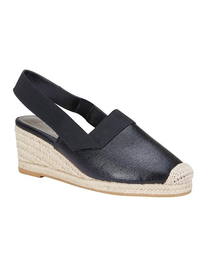 Evelyne Black Fabric Sandal image 2