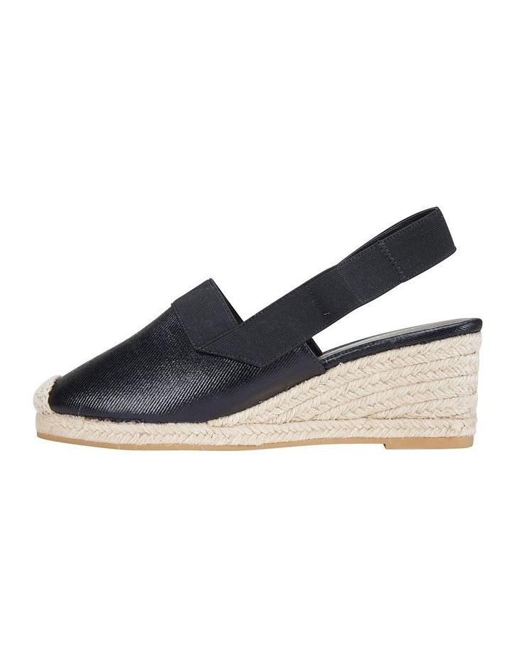 Evelyne Black Fabric Sandal image 3
