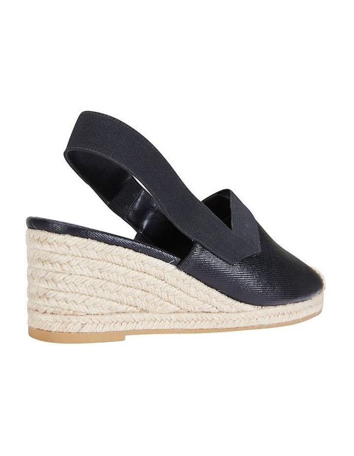Evelyne Black Fabric Sandal image 4