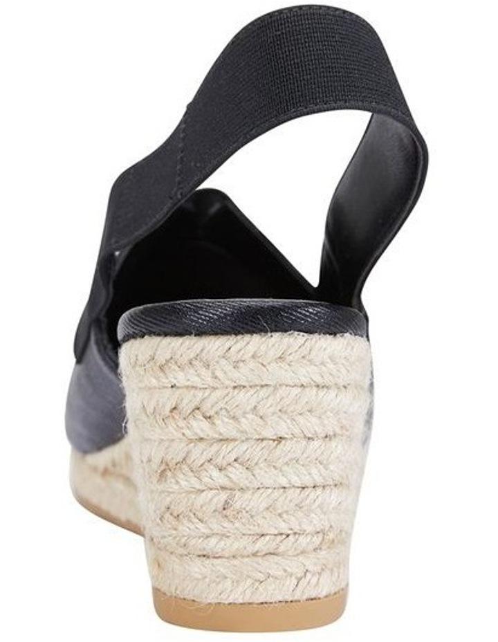 Evelyne Black Fabric Sandal image 5