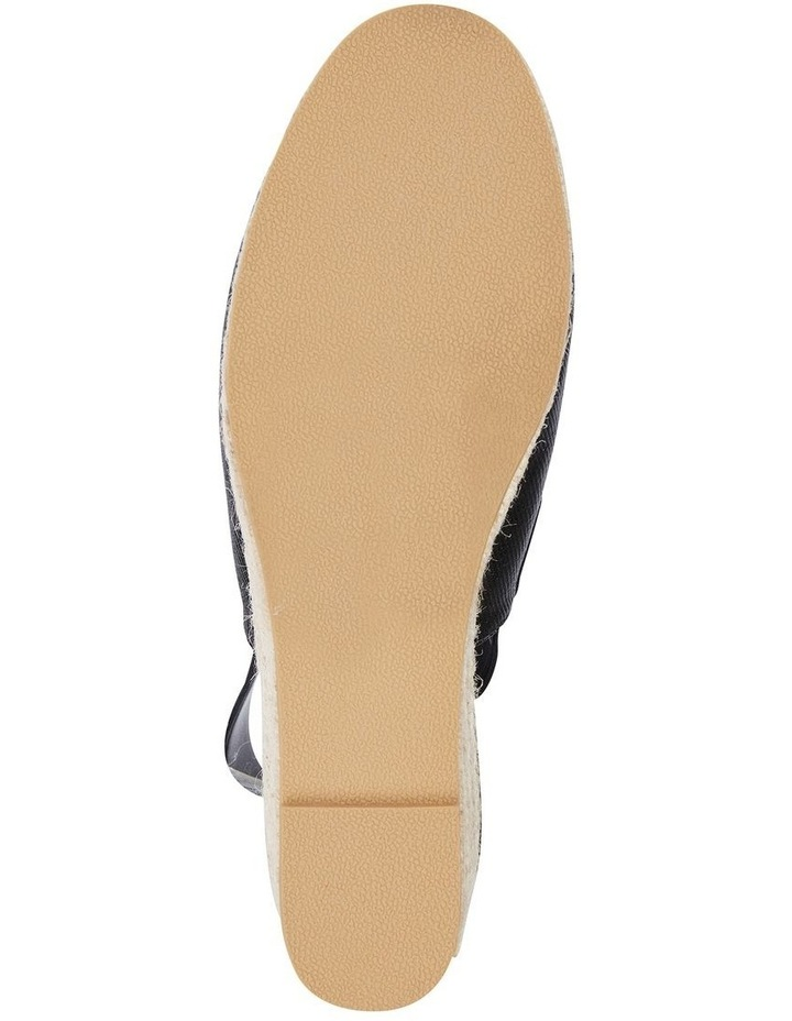 Evelyne Black Fabric Sandal image 6