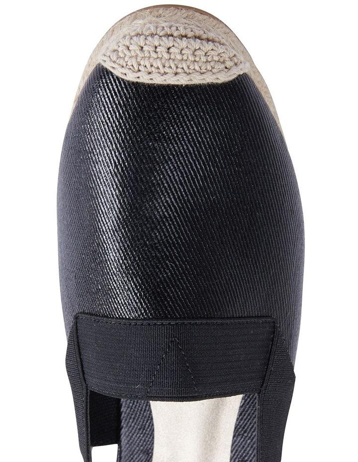 Evelyne Black Fabric Sandal image 7