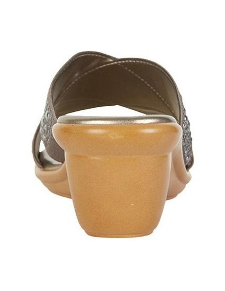 Honey Pewter Elastic Sandal image 5