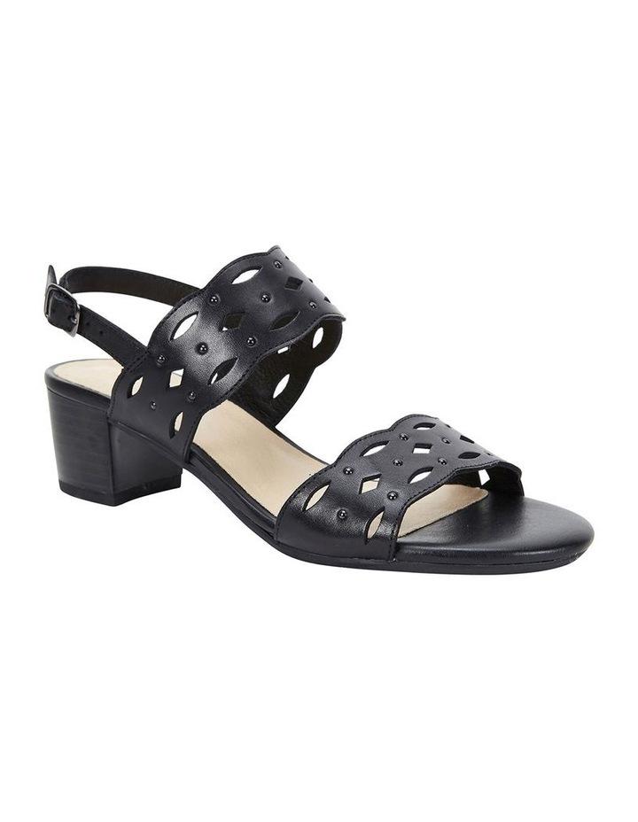 Debut Black Glove Sandal image 2