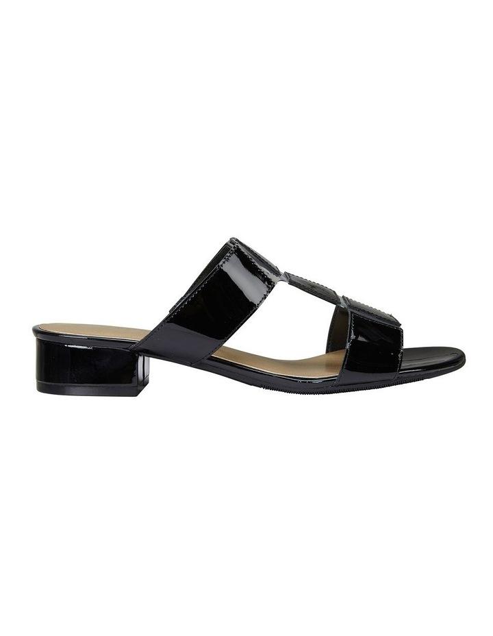 Gigi Black Patent Sandal image 1