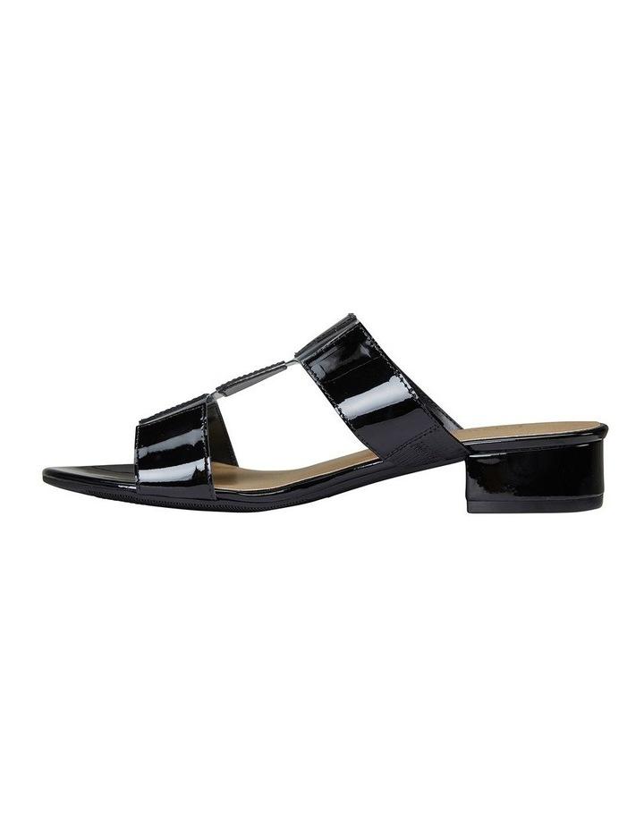 Gigi Black Patent Sandal image 3