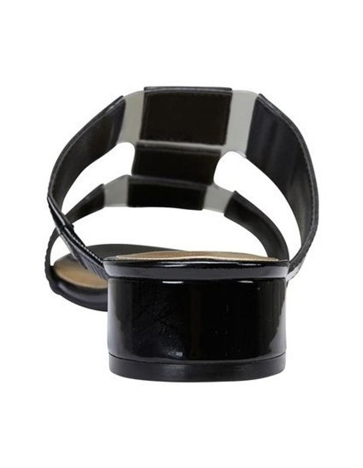 Gigi Black Patent Sandal image 5