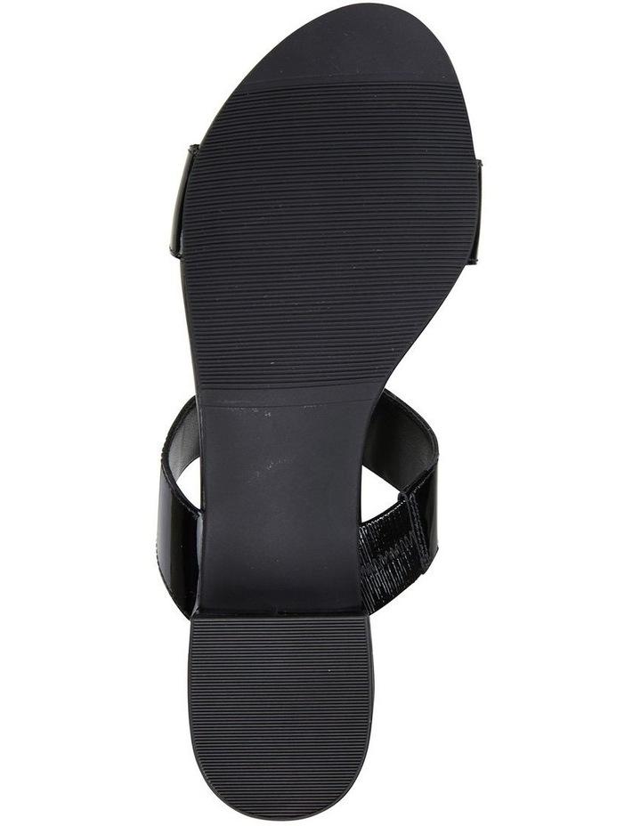 Gigi Black Patent Sandal image 6