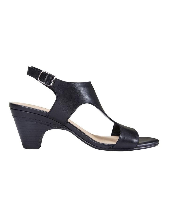 Margo Black Glove Nubuck Sandal image 1