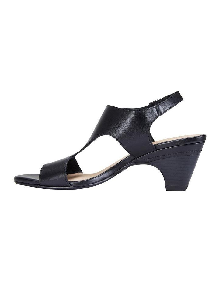 Margo Black Glove Nubuck Sandal image 3