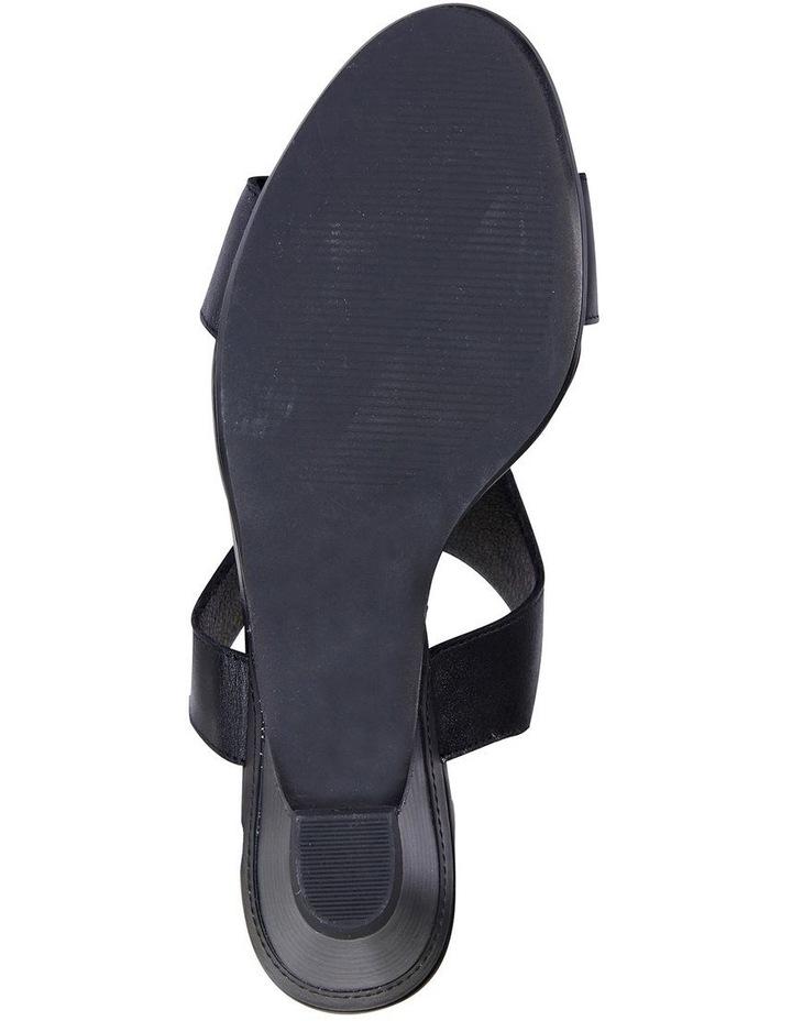 Margo Black Glove Nubuck Sandal image 6