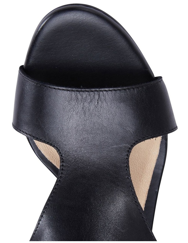 Margo Black Glove Nubuck Sandal image 7