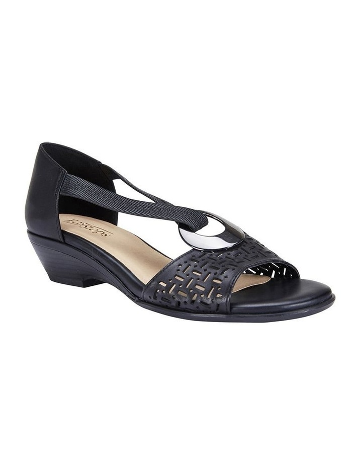 Chime Black Glove Sandal image 2