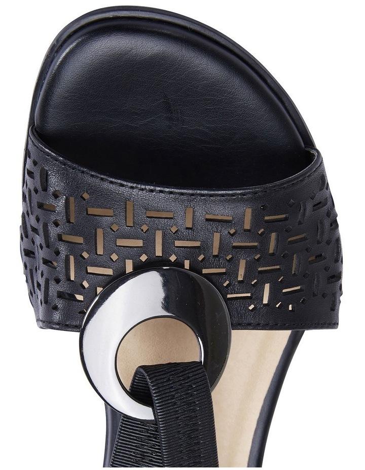 Chime Black Glove Sandal image 7