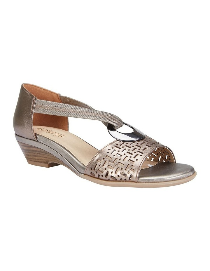 Chime Pewter Metallic Sandal image 2