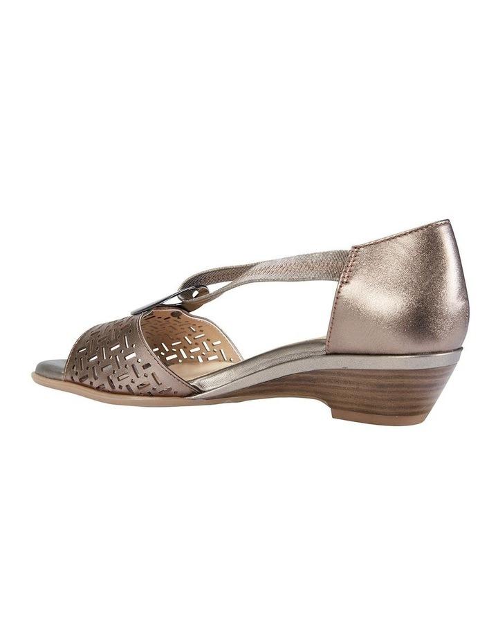 Chime Pewter Metallic Sandal image 3