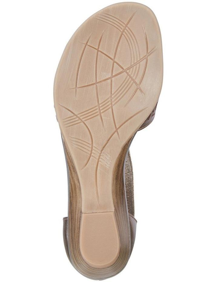 Chime Pewter Metallic Sandal image 6