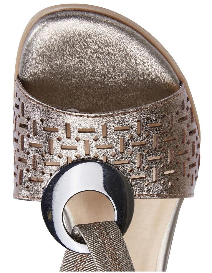 Chime Pewter Metallic Sandal image 7