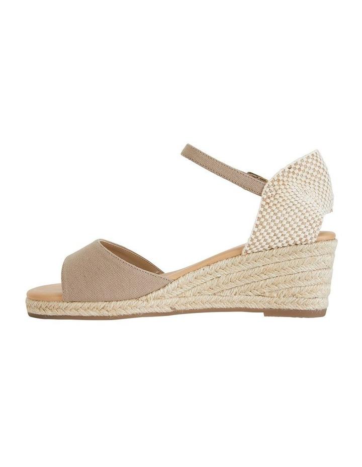 Safari Taupe Fabric Sandal image 3
