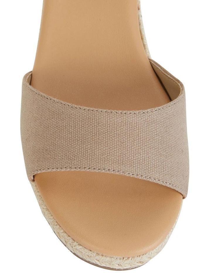 Safari Taupe Fabric Sandal image 6