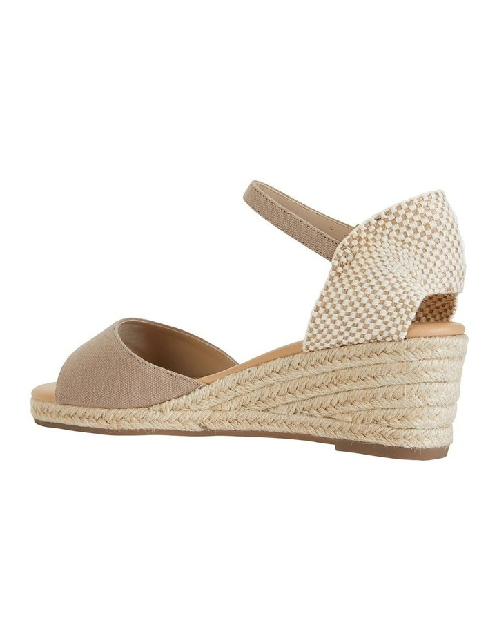 Safari Taupe Fabric Sandal image 7