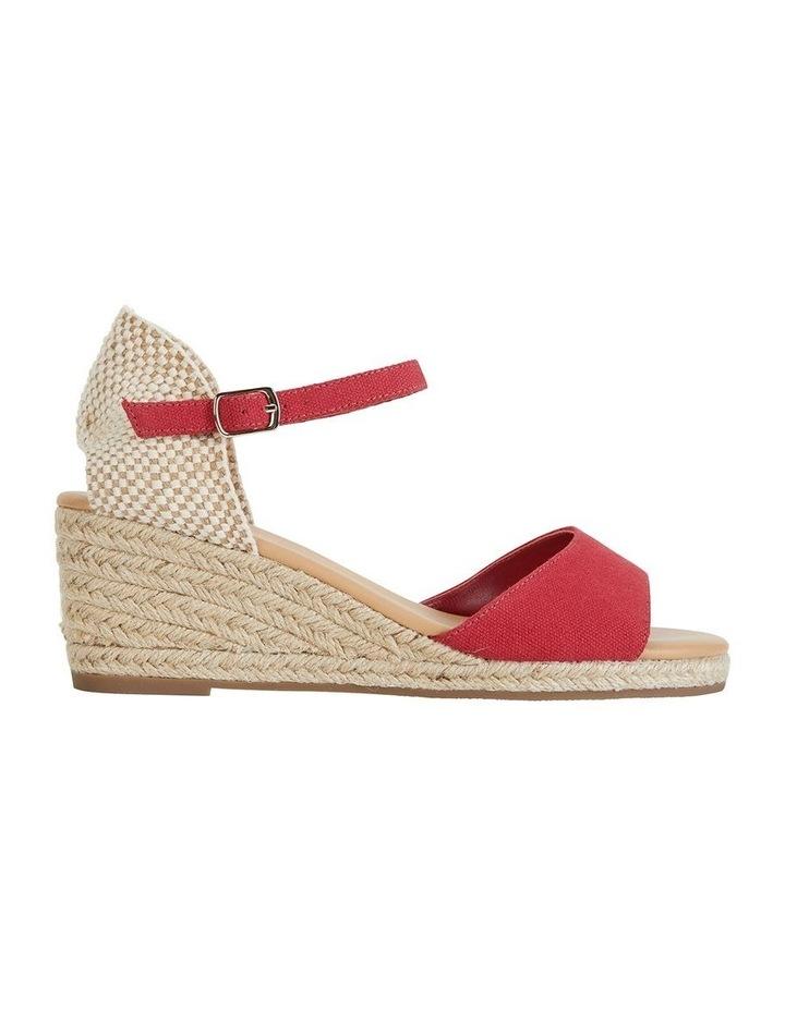 Safari Red Fabric Sandal image 1