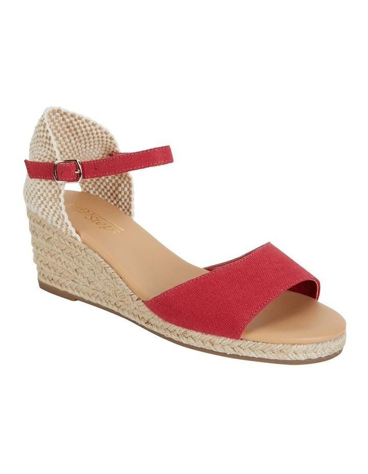 Safari Red Fabric Sandal image 2