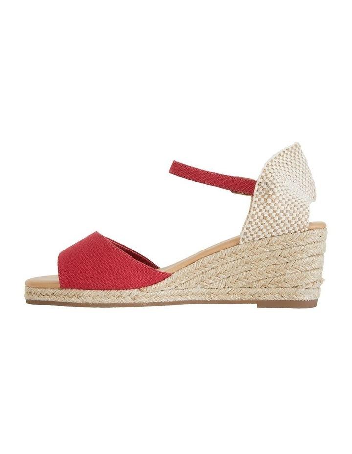 Safari Red Fabric Sandal image 3