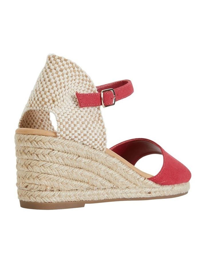 Safari Red Fabric Sandal image 4