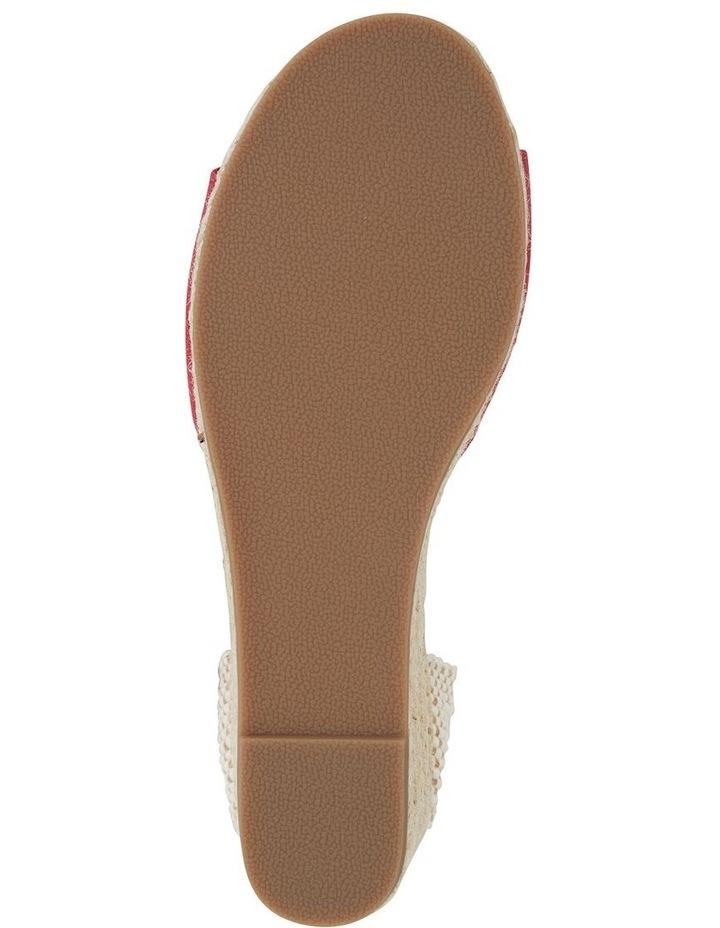 Safari Red Fabric Sandal image 5