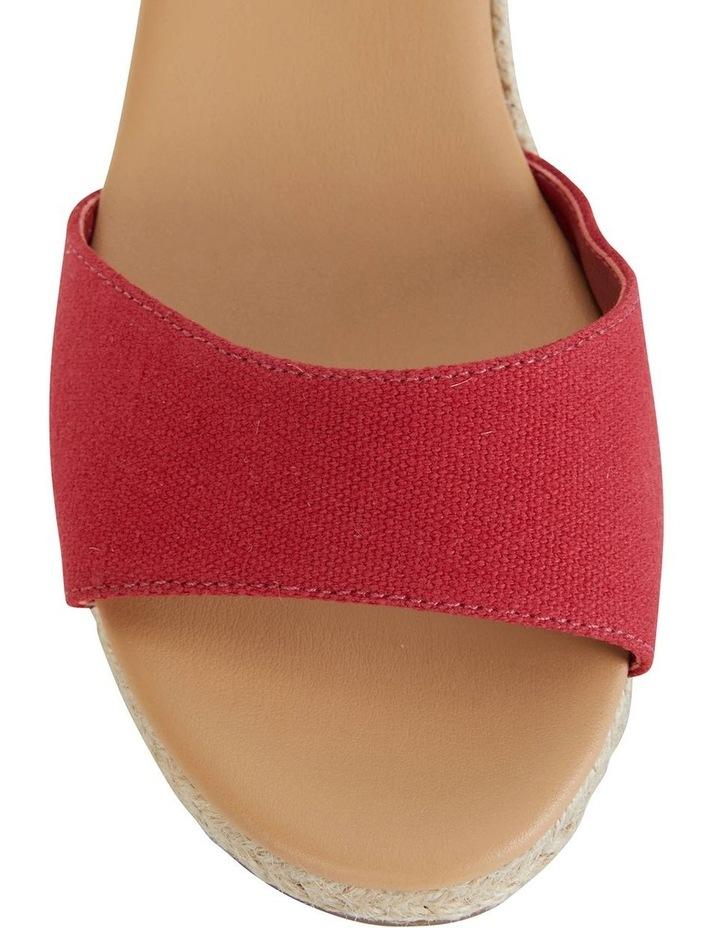 Safari Red Fabric Sandal image 6