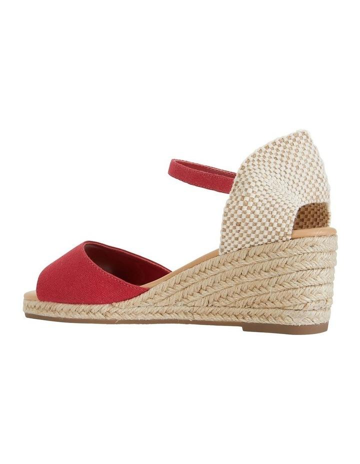 Safari Red Fabric Sandal image 7