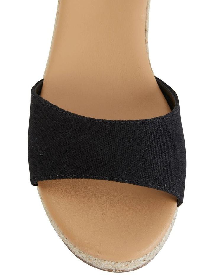 Safari Black Fabric Sandal image 5