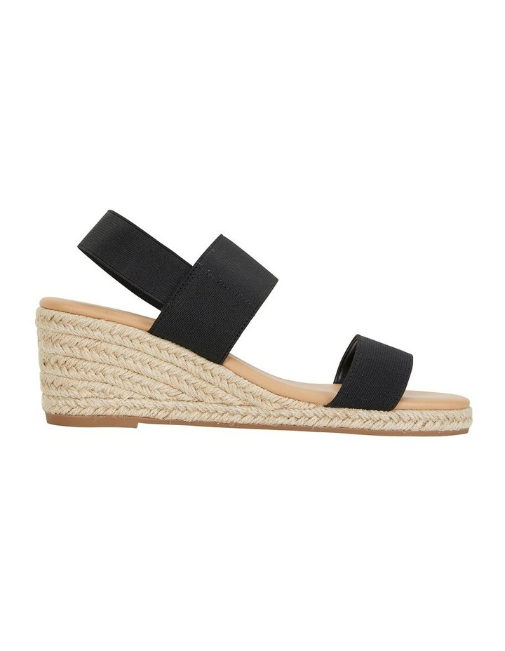 Sail Black Elastic Sandal image 1