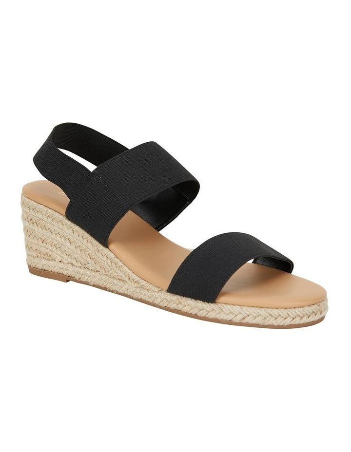 Sail Black Elastic Sandal image 2
