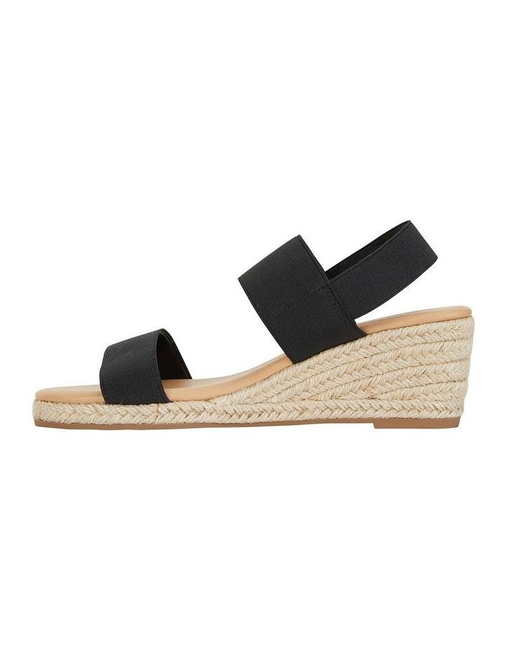 Sail Black Elastic Sandal image 3