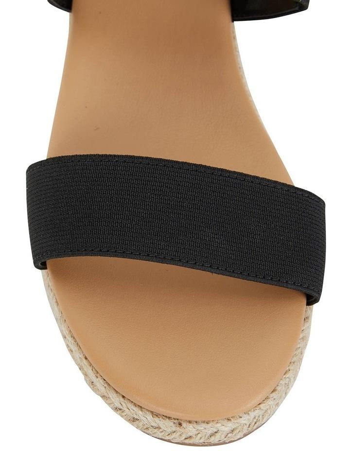 Sail Black Elastic Sandal image 5