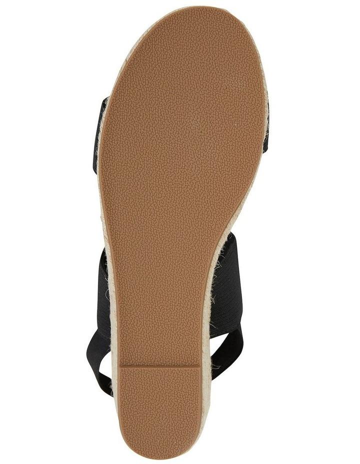 Sail Black Elastic Sandal image 6