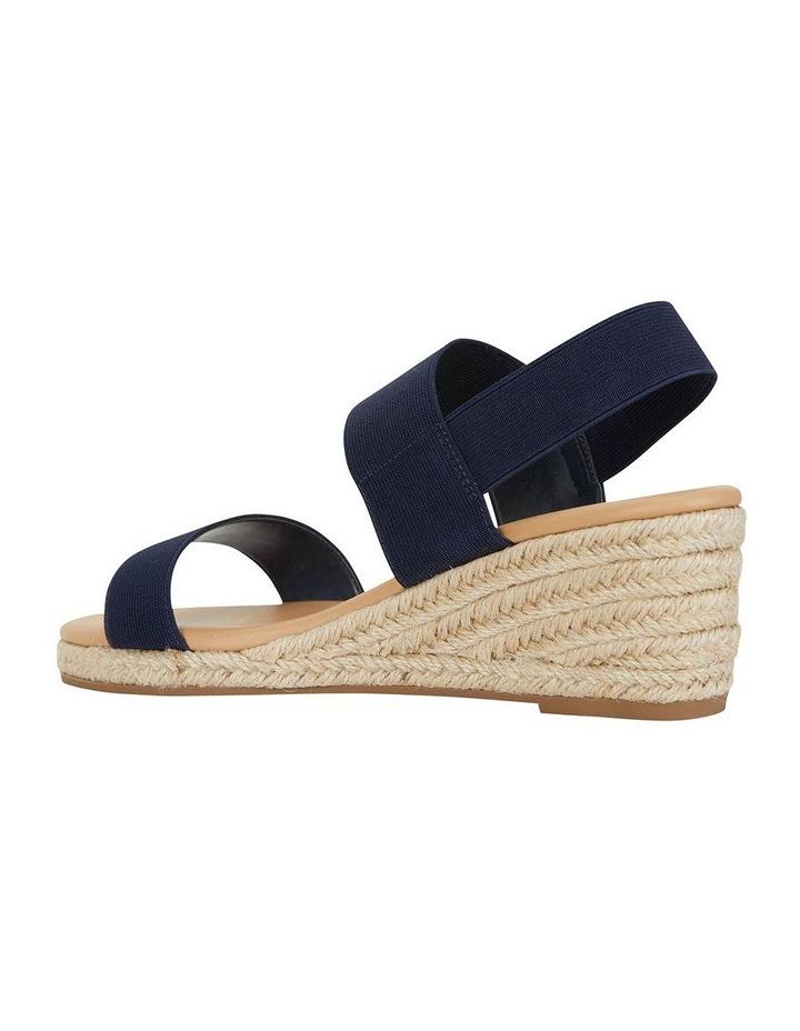 Sail Navy Elastic Sandal image 4