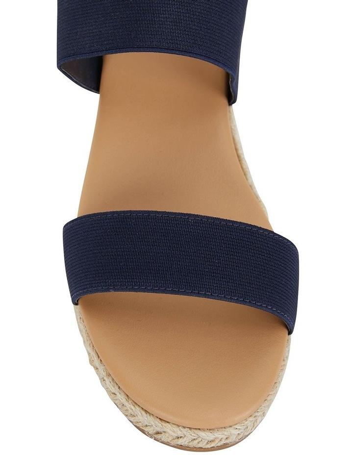 Sail Navy Elastic Sandal image 5