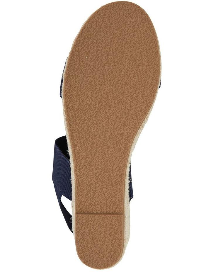 Sail Navy Elastic Sandal image 6